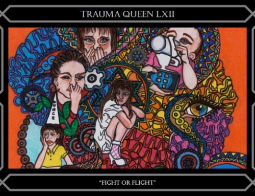 LXII TRAUMA QUEEN